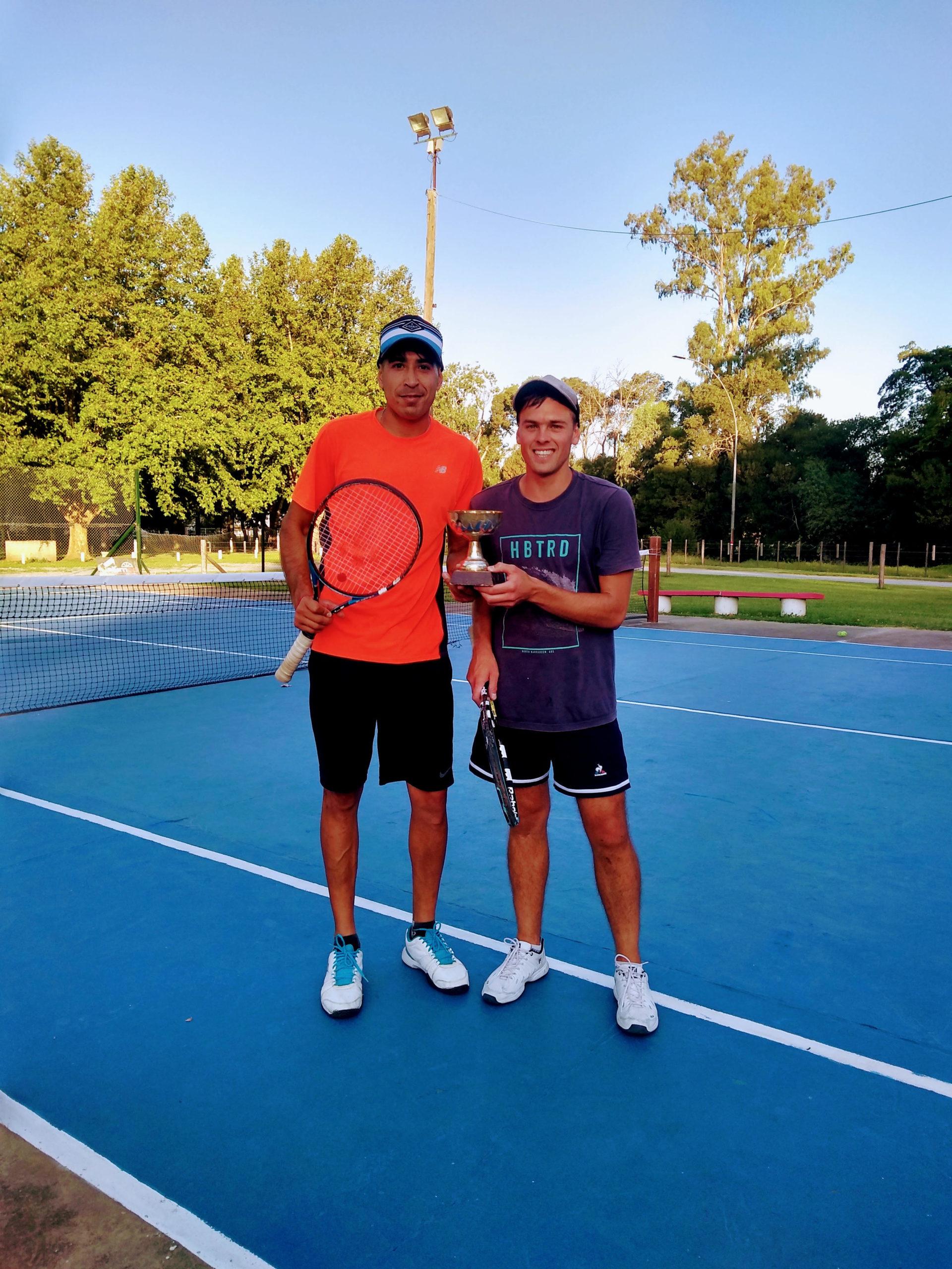 Sebastián Alajibe y Juanchi Altube Campeones en Dobles en el Tiro