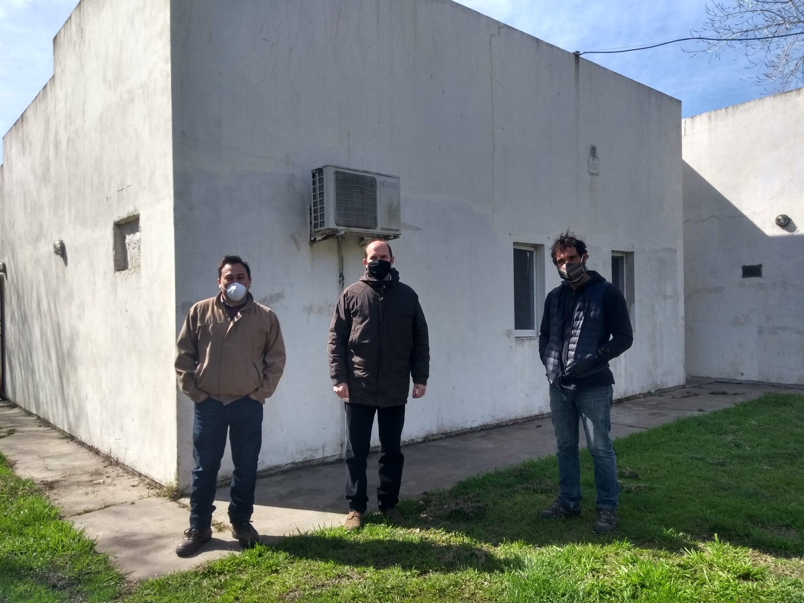 Autoridades Provinciales visitaron la chacra de la EESA Nº1
