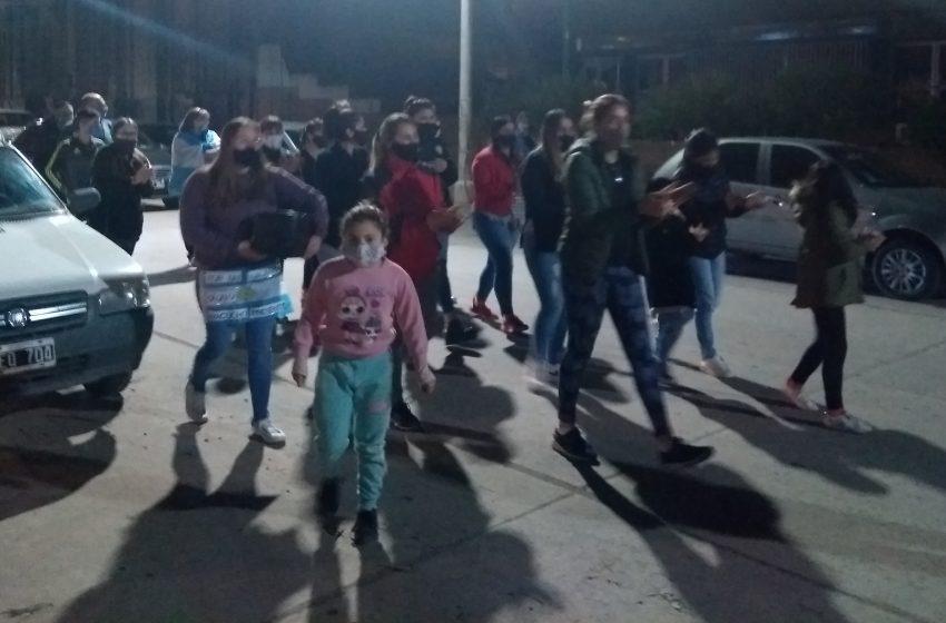 Policías locales se adhirieron a la manifestación Provincial