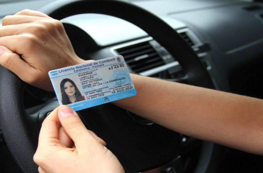 Se extendió el plazo de los vencimientos de la licencia de conducir