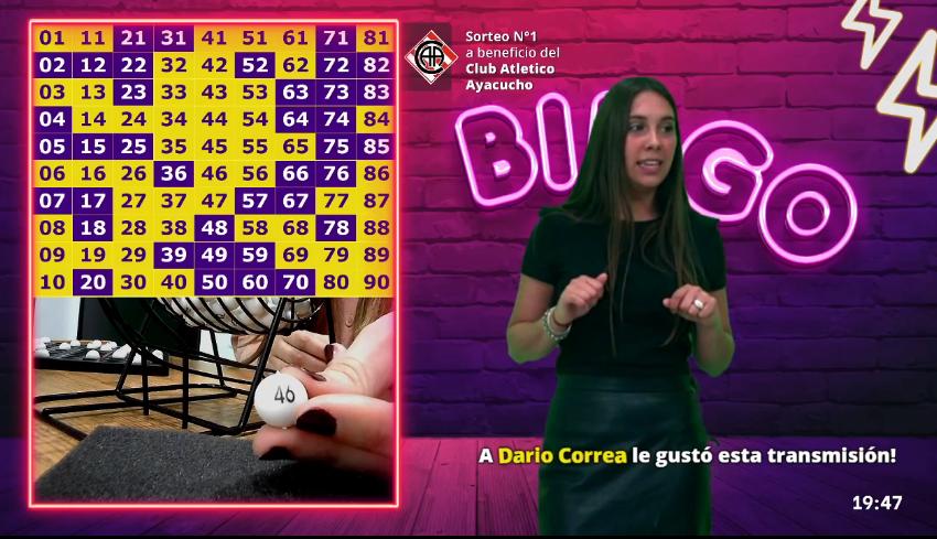 Quedan los últimos cartones para BingoLibre