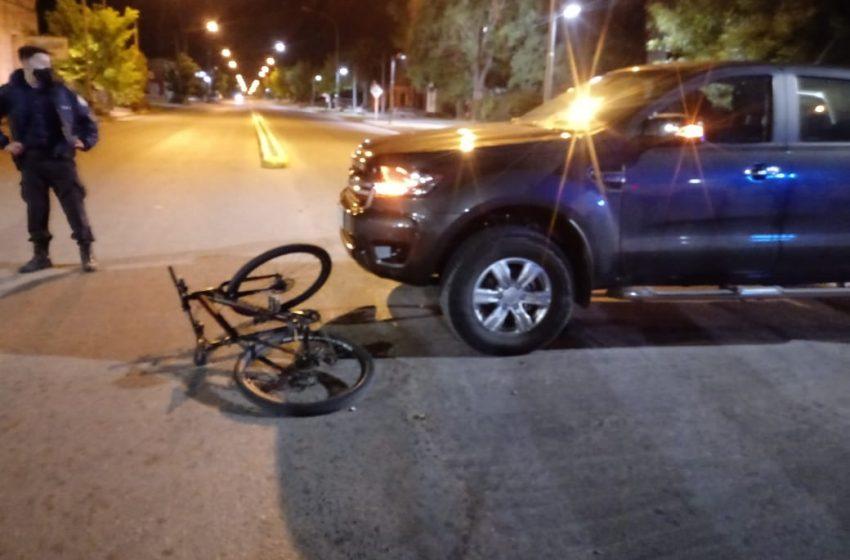 Accidente en Av. Solanet y Av.Colón