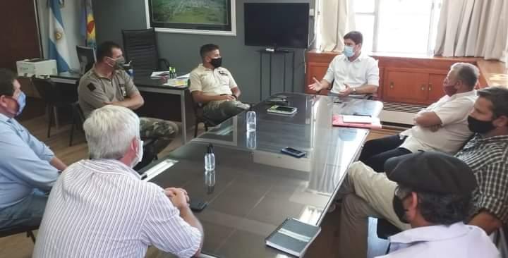 Reunión Sobre Seguridad en el Ámbito Rural