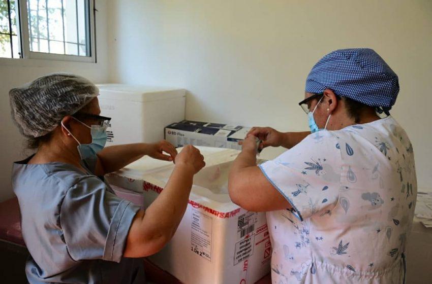 Llegó al Hospital Municipal la Segunda Tanda de Vacunas Contra el Covi-19