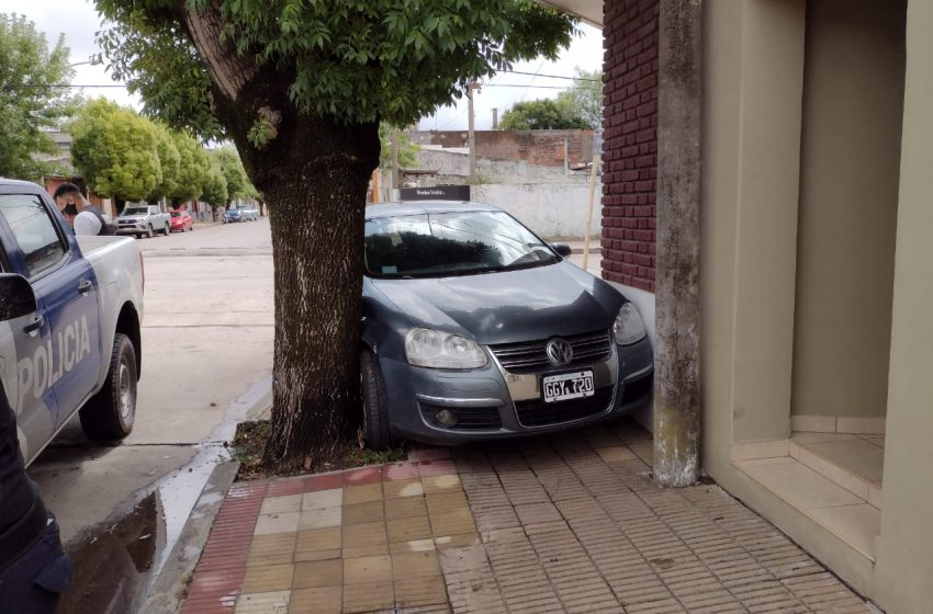 Accidente en Poderoso y Sarmiento